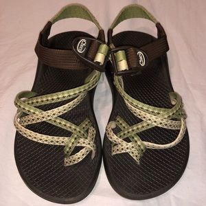 Women's Chaco ZX/2 ankle strap sandals 5W Vibram
